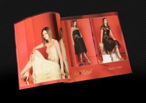 каталог вечерних платьев разворот