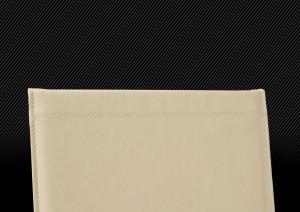 Квадратная кожаная фотокнига формата 30х30см, декоративный стежок