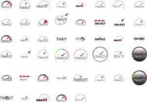 варианты логотипов магазин радиоуправляемых моделей пилот