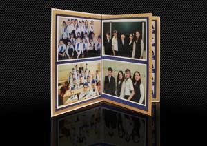 школьная фотокнига для младших классов разворот