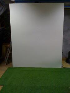 трава в фотостудии