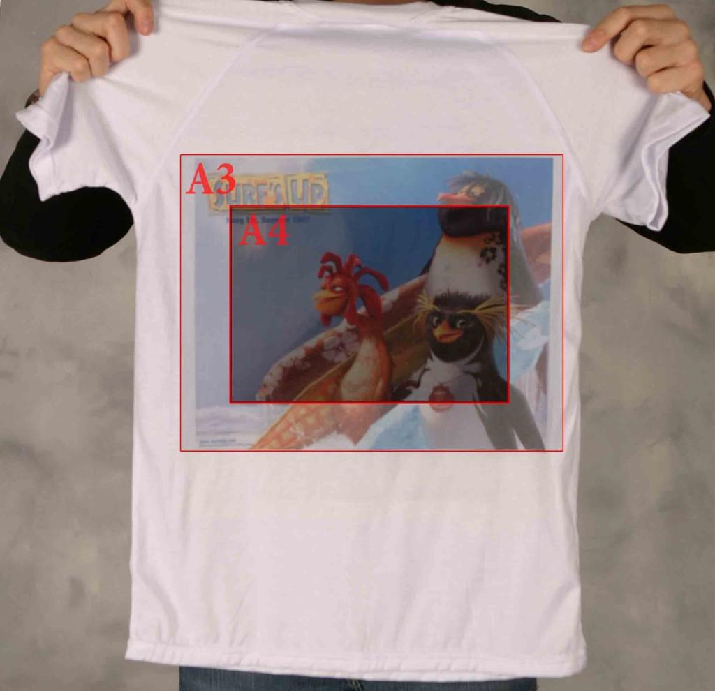 Размер картинки для печати на футболку
